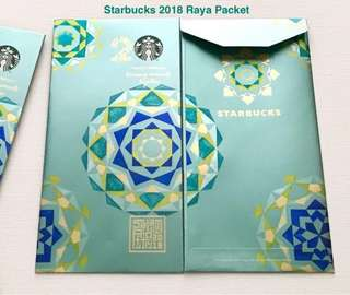Starbucks 2018 Raya Packet