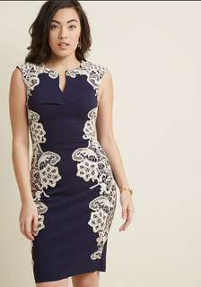 BNWT Modcloth Sheath Dress