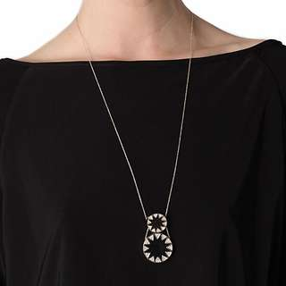 House of Harlow Double Sunburst Chain Necklace