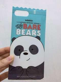 Bare Bears Case IPHONE 7+ ( MINISO )