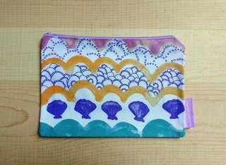 Tsumori Chisato Pouch 海洋風 化妝袋 雜物袋
