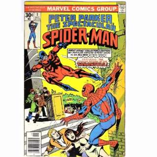 Marvel Spectacular Spiderman spider-man #1