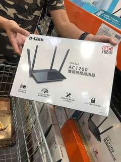 🚚 D-Link友訊 DIR-822 Wireless AC1200 802.11ac 雙頻無線路由器