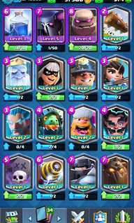 🚚 Clash Royale Account