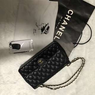 Chanel Caviar Medium Double Flap