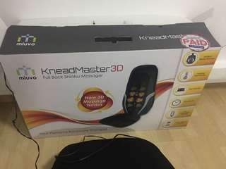 Knead master 3D full back massager