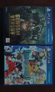 Ps4 games Gundam vs