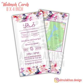 Walimah Cards
