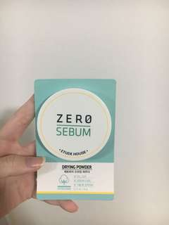 🚚 Zero Sebum Powder