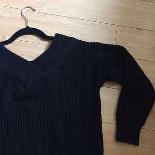 M Boutique Black Knit Sweater