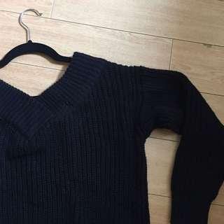 M Boutique Black Knit Sweater