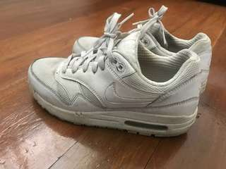 Repriced!! Nike Air Max One All White
