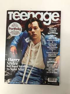 🚚 Teenage Magazine vol 30 issue 2 Harry Styles