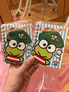 Keroppi kerokeroppi Tickler Notebook