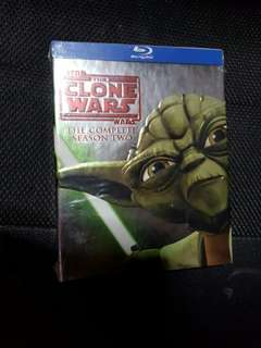 Star wars clone wars S2 blu ray