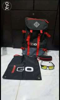 Marlboro Bag Knapsack and Shades Collectibles Bnew Condition