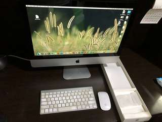 iMac 21.5-inch mid 2011 1TB (2.5 GHz Intel Core i5) (Including the wireless keyboard and mouse)