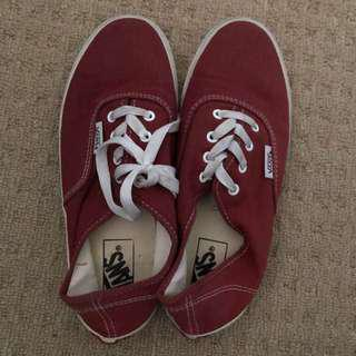 Red vans