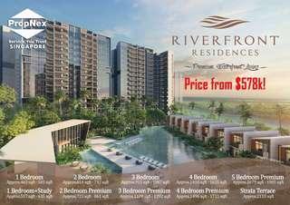 RiverFront Residences Fr $578k