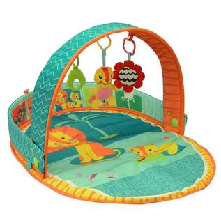 3 In 1 Portable Baby Activity Play Gym Mat