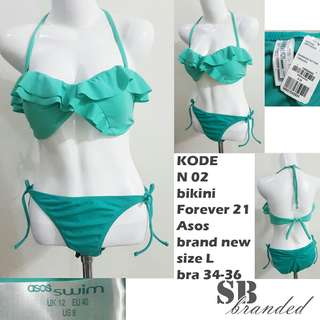 Bikini branded new bukan preloved second bekas impor