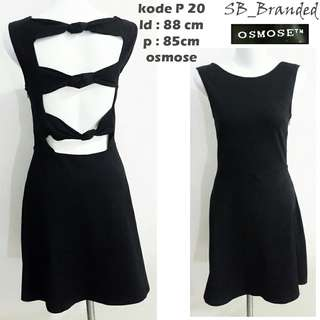 Dress osmose ex etalase sexy preloved second bekas impor