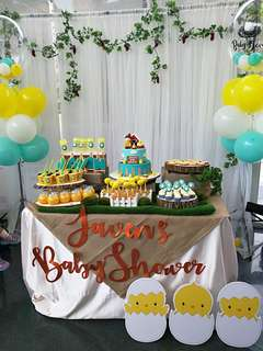 Hatched Theme Party Rental Package