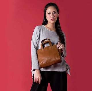 Flashy Brown Sling Bag