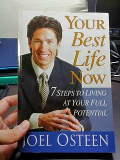 Christian Book Your Best Life Now by Joel Osteen