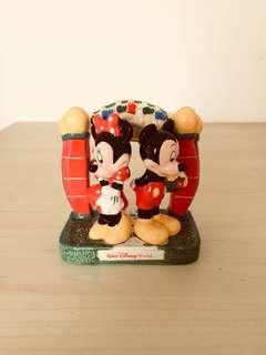 🚚 清倉大特價!早期迪士尼米奇米妮陶瓷鹽罐調味罐