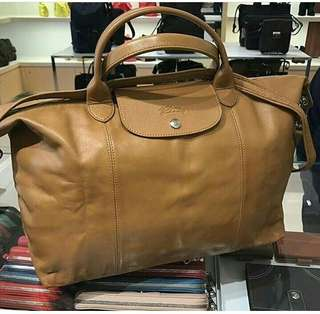 Longchamp Cuir Leather