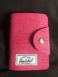 Pink Herschel Card Holder
