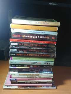 Assorted wattpad books