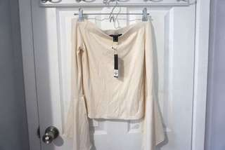 BNWT Off The Shoulder Blouse