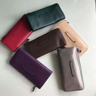 Authentic longchamp wallet