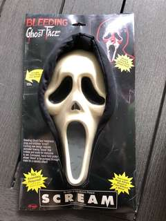 🚚 Scream ghost face hooded mask movie replica high quality bleeding effect