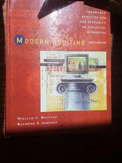 Boynton: modern auditing
