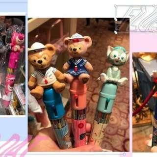 🚚 6/29收單♥香港。迪士尼園內限定~迪士尼3ᴅ造型10色原子筆