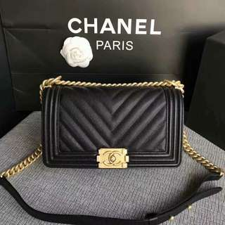 CHANEL LEBOY CHEVRON
