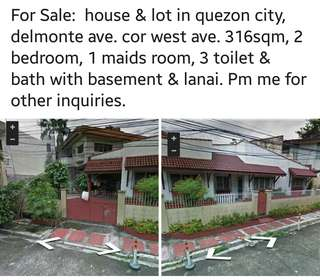 house & lot near sm north & trinoma malls