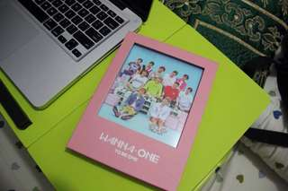 WANNA ONE album To Be One PINK VER. + pc