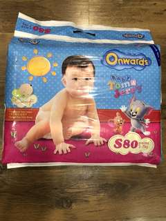 Brand new Onwards baby diapers Size S