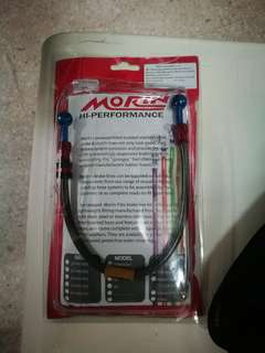 Morin Steel Braided brake hose for Honda RS150R