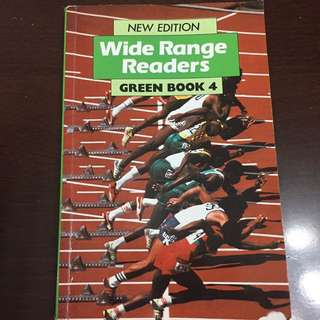 Wide Range Reader Green Book 4 (New Edition)