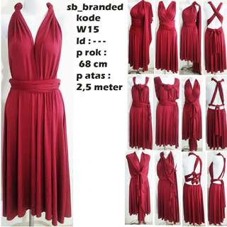 Dress unik bukan preloved second bekas vintage