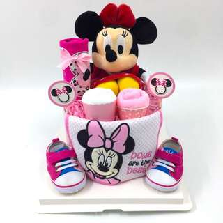 Authentic Minnie Baby Diapers Cake