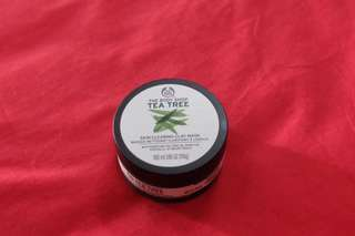 The body shop tea tree series