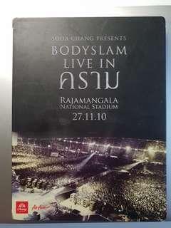 🚚 Bodyslam Live in Kraam DVD (Thai)