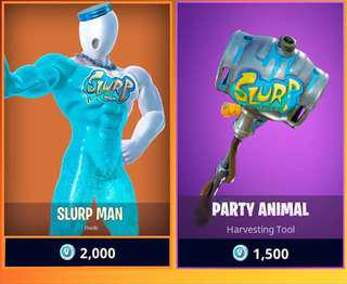 Fornite slurp set