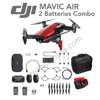 DJI Mavic Air 2 Batteries Combo (1 Year + 6 Months Extended Warranty)